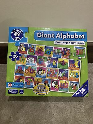 £2.10 • Buy Orchard Toys Jigsaw-GIANT ALPHABET EXTRA LARGE FLOOR Puzzle 26 Pieces - Age 3-6
