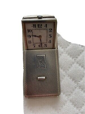 £14 • Buy Beautiful 925 Silver Pop Up Brevet Watch In Case With Import Marks