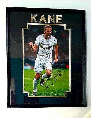 £69.99 • Buy  Harry Kane Signed Champions League Picture..'one Of Our Own ' ..rare As ..