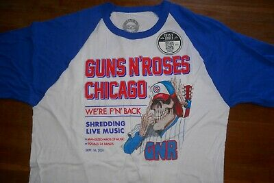 £76.77 • Buy Guns N' Roses Wrigley Field Chicago Concert T-Shirt L 2021 Exclusive
