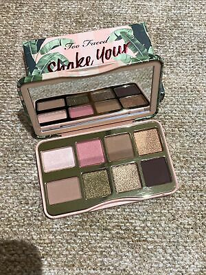 £6.99 • Buy Too Faced Shake Your Palm Palms Eye Shadow Palette New – Boxed – Authentic
