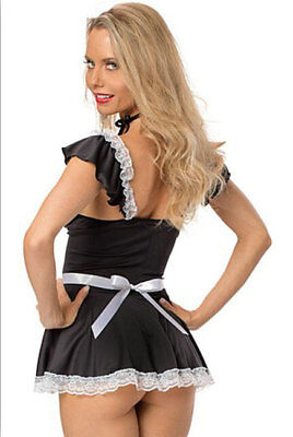 £11.99 • Buy Naughty Sexy After Hours French Maid Waitress Costume Servant Outfit 8 - 16