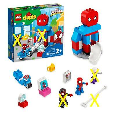 £17.99 • Buy Duplo Spider-Man Headquarters Building Set 2+ Yrs (ONLY 1 Figure Included)