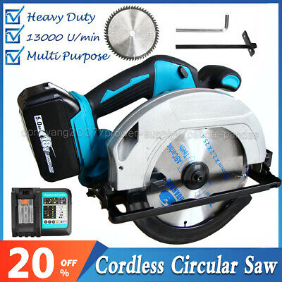 £133.70 • Buy Brushless Electric Circular Saw Cutting Sawing Machine For 18V Makita Battery