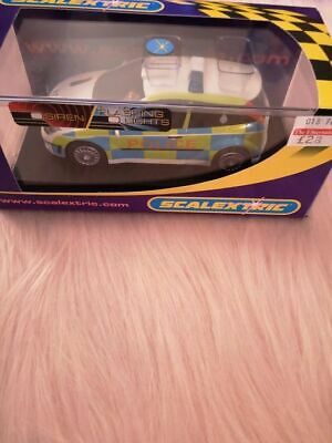 £30 • Buy Scalextric C2488 Ford Focus Police Car With Lights & Siren
