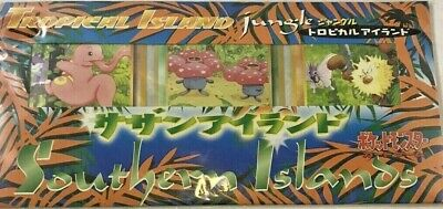 $34.95 • Buy Pokemon Southern Islands Tropical Island Jungle New/factory Sealed