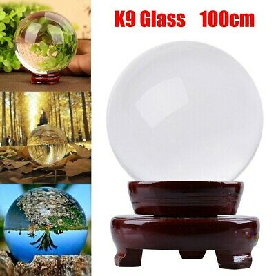 £11.49 • Buy Clear Glass Crystal Ball Healing Sphere Photography Photo Props Gifts UK Seller