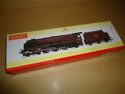 £81.99 • Buy Hornby Oo Gauge R3241 Br Red 46236 Coronation City Of Bradford Dcc Ready