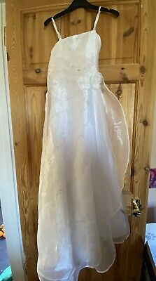 £5 • Buy Girls Dress Formal - Party Gown Wedding Prom Evening Ball Skirt- Worn Once!