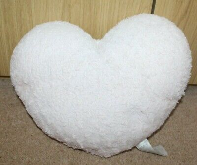 £0.89 • Buy Pink Heart Shape Cushion, Lovely Condition