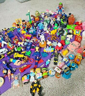 £36.37 • Buy Huge Lot 125 Action Figures Assorted Collection Vintage Toys Collectible Items