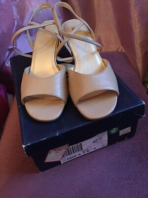 £2.30 • Buy Brand New Ladies Stone Coloured Leather K Shoes Size 7