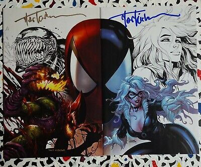 £0.85 • Buy Amazing Spider-man #801 #1 Signed Connecting Covers Exclusive Virgin Kirkham Coa