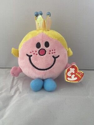 £4.50 • Buy Mr Men Little Miss Princess New Soft Toy Plush  By Ty