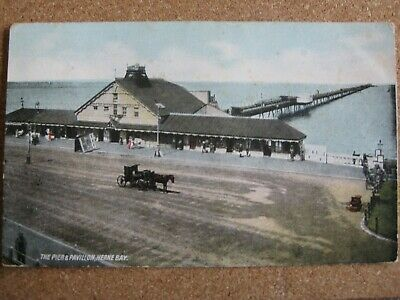 £2.50 • Buy The Pier And Pavilion , Herne Bay , Kent - Posted 1906