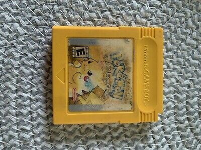 $43.99 • Buy Pokemon Yellow Version Special Pikachu Edition (Game Boy, 1999) Authentic Saves2