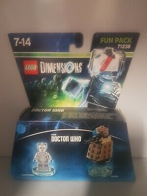 AU2.25 • Buy LEGO Dimensions 71238: Cyberman Fun Pack - Doctor Who -BRAND NEW! & SEALED