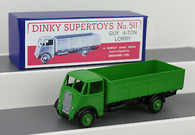 £27.99 • Buy DINKY TOYS 511 Guy 4-Ton Lorry RESTORED/REPAINTED + Repro Boxes A