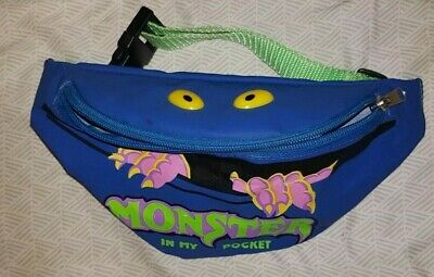 £9.99 • Buy Vintage Monster In My Pocket Carry Pouch / Bum Bag 90s