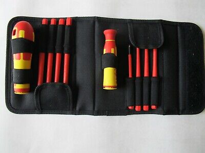 £27.75 • Buy Ck Set Of Interchangeable Screwdrivers Professional Flat Pozi 1000v Insulated