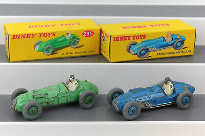 £23.99 • Buy DINKY TOYS 230 Talbot Lago & 235 H.W.M. Racing Cars + High Quality Repro Boxes
