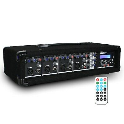 £99 • Buy 4 Channel 800w Bluetooth Mixer Amplifier With Remote For Live PA Stage DJ Bands
