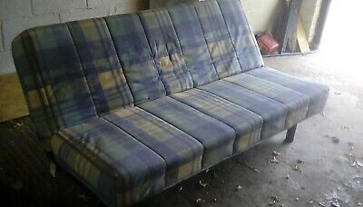 £30 • Buy Slumberland Metal Action Sofa Bed Good Cond With Proper Folding Double Mattress