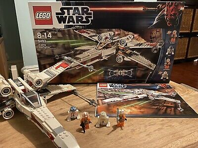 £49.99 • Buy LEGO 9493 Star Wars: X-Wing Fighter. Complete With Box, Instructions And Figures