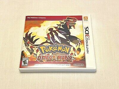 $13.75 • Buy Nintendo 3DS Pokemon Omega Ruby Case And Insert Only No Game