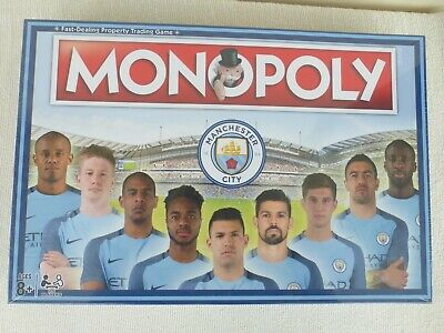 £14.50 • Buy Monopoly Premier League Manchester City Football 2016 Hasbro Game Sealed
