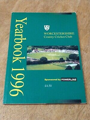 £0.99 • Buy Worcestershire County Cricket Club Year Book 1996
