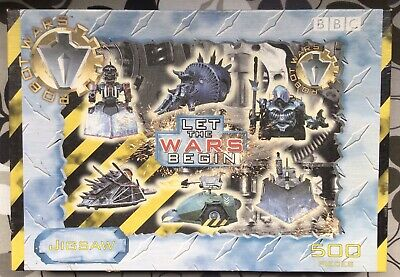 £6.99 • Buy BBC Robot Wars Let The Wars Begin 500 Piece Jigsaw Puzzle New And Sealed Retro
