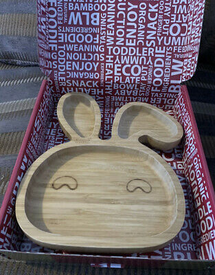 £4.50 • Buy Genuine Bamboo Bamboo Suction Plate / Weaning / Baby/Toddler Plate