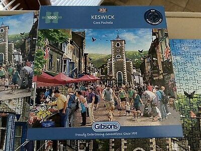 £5.50 • Buy Gibsons 1000 Piece Keswick Excellent Condition