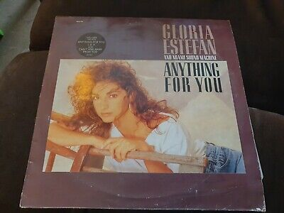 £1.10 • Buy Gloria Estefan Anything For You LP 12 Inch Vinyl Record