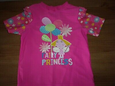£1 • Buy Ben & Holly's Little Kingdom - Pink Sun Protection Top - Age 5 Years
