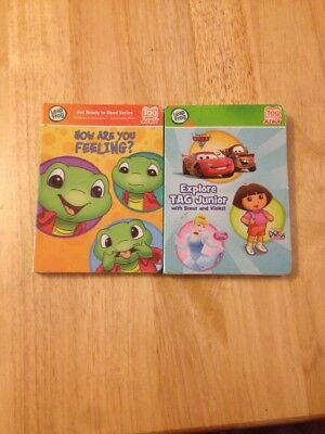 £5 • Buy LeapFrog Tag Books - Explore Tag Junior  And How Are You Feeling?