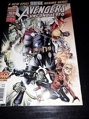 £3.50 • Buy Avengers Unconquered 34 August 2011