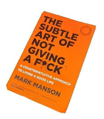 AU15 • Buy The Subtle Art Of Not Giving A F*ck By Mark Manson (Paperback)