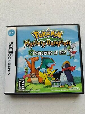 $35.99 • Buy Nintendo DS Pokemon Mystery Dungeon Explorers Of Sky CASE ONLY NO GAME