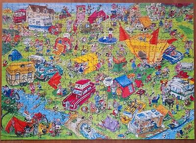 £4 • Buy   Mirror Image   Camping 1000 Piece Jigsaw Puzzle