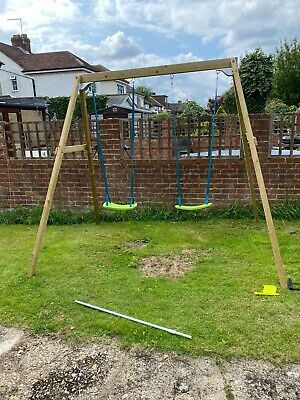 £60 • Buy TP Toys Wooden Double Swing