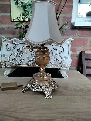 £30 • Buy Refurbished Vintage French Lamp With Silk Shade