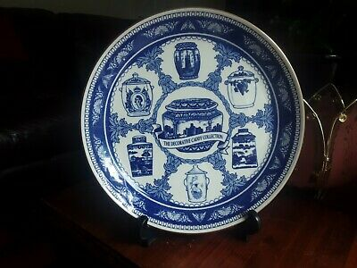 £5.99 • Buy Mason's Ringtons The Caddy Collection Blue And White Dinner Plate 10 1/8th Inch