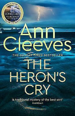 £8.50 • Buy The Heron's Cry By Ann Cleeves (Hardcover, 2021)