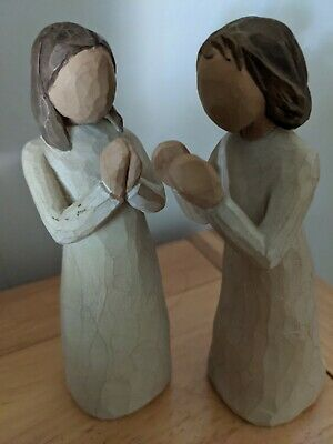 £5.50 • Buy Willow Tree Figures Sisters By Heart