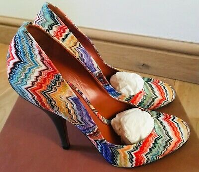 £59.99 • Buy Missoni Shoes Size 40 Uk 7 Paid £360.00 (worn Once On Carpet)