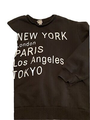 £2.30 • Buy H&M Bloggers Favourite Cities Sweatshirt Size Small