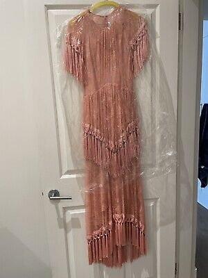 AU200 • Buy  Alice McCALL More Than A Woman Fringed Chantilly Lace Dress Pink
