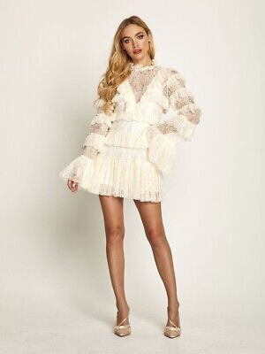 AU190 • Buy Alice McCall Chantilly Mini Dress Size 10 - Also Fits Size 8